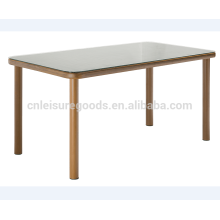Bamboo look bistro table