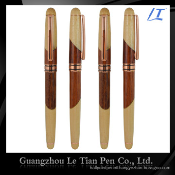 Factory Price Custom-Tailor Leather Luxury Wooden Pen