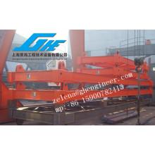 ISO Halbautomatischer Containerstreuer zum Heben von 40ft / 20ft Standardcontainer