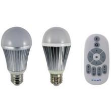 Temperatura de color del control remoto RF y luz descendente regulable