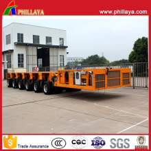 6 Modules 150 Tons Hydraulic Self Propelled Modular Trailer