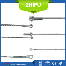 Resistance of a tungsten wire structure 7*19*7