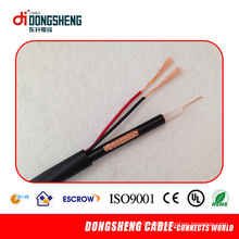 22 года опыта ISO90001CE. RoHS и ETL одобренный коаксиальный кабель Rg59 2c
