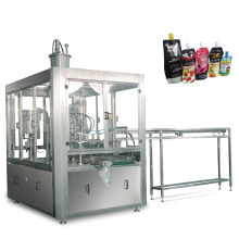 Spout Bag Filling and Capping Machine For Tonic water