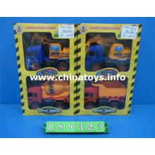 Nouvelle voiture de construction de jouet en plastique de frottement d'objet (889323)
