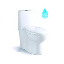 Wc en céramique chinois / toilette standard américain / toilette d'une seule pièce