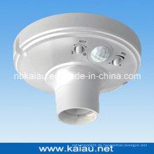 Hochwertige E27 PIR Sensor Lampe Halter Sockel