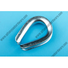 China Manufacturer Rigging G-414 Wire Rope Thimble