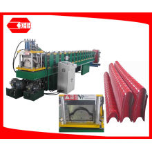 Steel Roofing Ridge Cap Tile Roll Forming Machine (YX162-287)