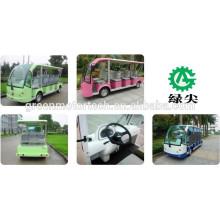 23 Sitzer elektrische Touristenwagen Sightseeing Cart Bus Golfwagen zum Verkauf Shuttle-Bus