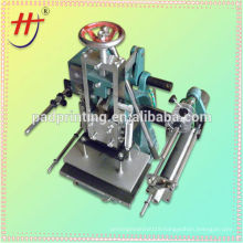 china factory manual hot stamping machine for silver or gold color