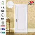 JHK-001 Good Customized FSC Certificate Whiter Primer Flush Solid Wooden Door