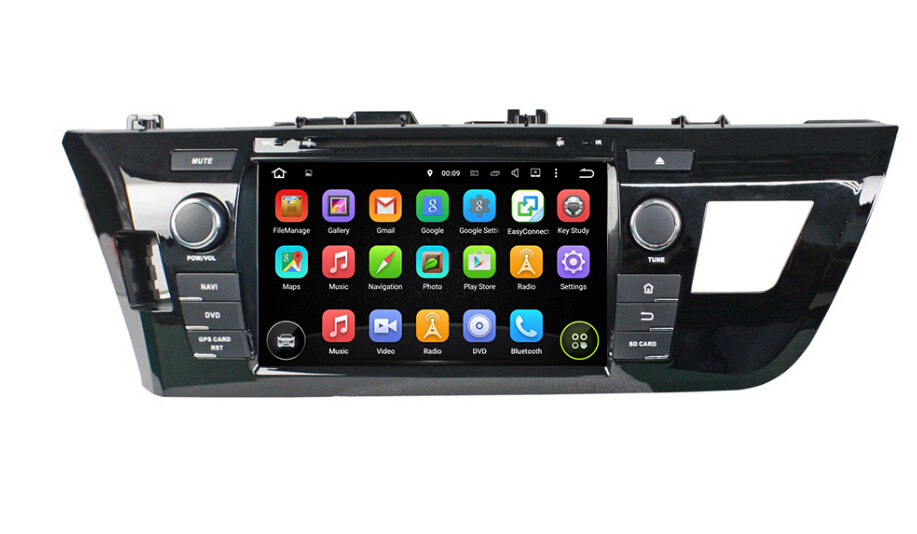 Toyota Levin 2014-2015 car audio player