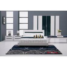 Conjunto de móveis de quarto de design elegante para adulto (HF-EY1001)