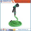 Hochwertiger flexibler Gartenschlauch aus Gummi / erweiterbarer Gartenschlauch
