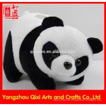 Banco de moeda da panda do brinquedo do luxuoso do banco do animal da economia do dinheiro da venda direta da fábrica
