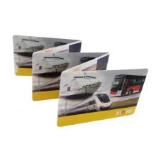 Tarjetas de papel personalizadas RFID HF Billetes desechables