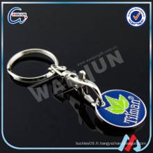 Porte-clés de pièces de monnaie de panier d'achats au Canada, porte-clés de porte-monnaie, porte-clés de magasinage