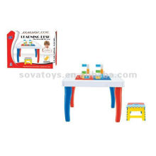 Block table, building block bricks construct toy