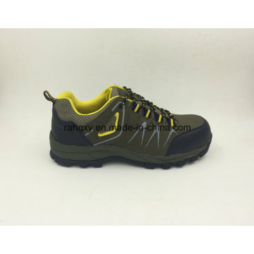 Sapatos novos de segurança projetado dividir couro Nubuck sapatos de segurança com Cap Toe composto (16050)