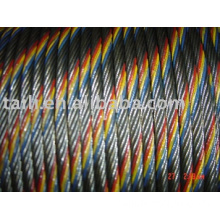 (super deal) colored  Steel Wire Rope,colour Steel Wire Rope,galvanized steel rope,carbon spring steel wire rope