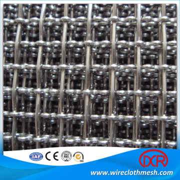 plain woven steel crimped mesh