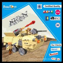 Oferta especial! Inteligência de venda quente bloqueia brinquedos de blocos de caminhão de míssil na máquina de bloco da china