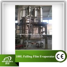Evaporador de filme de queda 100L