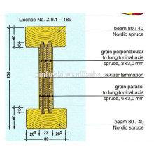 Schalung H20 / H16 Holzbalken