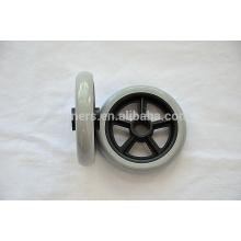 5 inch 6 inch 7 inch small plastic baby doll pram wheels PVC wheel