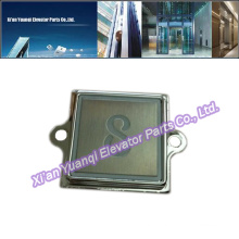KONE Buttons Elevator Lift Spare Parts Stainless Steel Push Call Button Square Shape