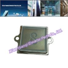 Кнопки KONE Лифт Lift Запасные части Нержавеющая сталь Push Call Button Квадратная форма
