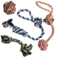 Chewers Play Dog Rope Toy for Medium Dogs