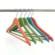Benutzerdefinierte buntes Hemd Top Kleiderbügel für den Großhandel