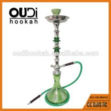 Fashionable style one hookah hose green stripe vase smoking shisha
