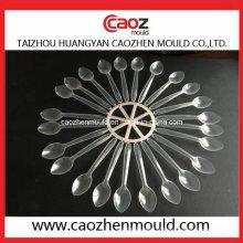 Couverts / vaisselle en plastique injecté / moule en cuillère jetable