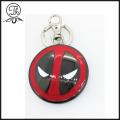 Marvel Avengers Deadpool shield keyrings