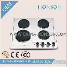 Industrieller Gasbrenner-elektrischer Heizplatten-Induktions-Kochplatten-Gasofen