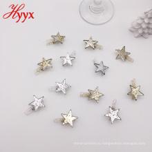 HYYX поделки цветной из натурального дерева ткань колышек фотобумага ремесло клипы с Рождеством