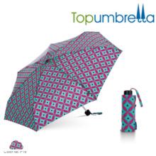 Kinderminispielzeug MINI transparente faltende Regenschirme mit Tasche Kinderminispielzeug MINI transparente faltende Regenschirme mit Taschen