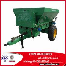 Esparcidor de fertilizante arrastrado Tractor de la herramienta agrícola Esparcidor Proveedor de China