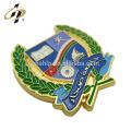 Custom soft enamel magnet metal lapel pin badge