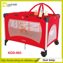 High quality hot sale best red selling baby playpen