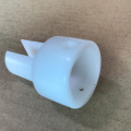 Wholesales cnc plastic machining with anodized white parts