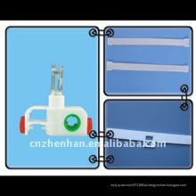 3-prong suporte de gancho, espaço, cabide para acessórios de cortina vertical, componentes de cortina, corredor de sombra vertical