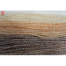 4-5mm AA Grade Round Natural Pearl Strands