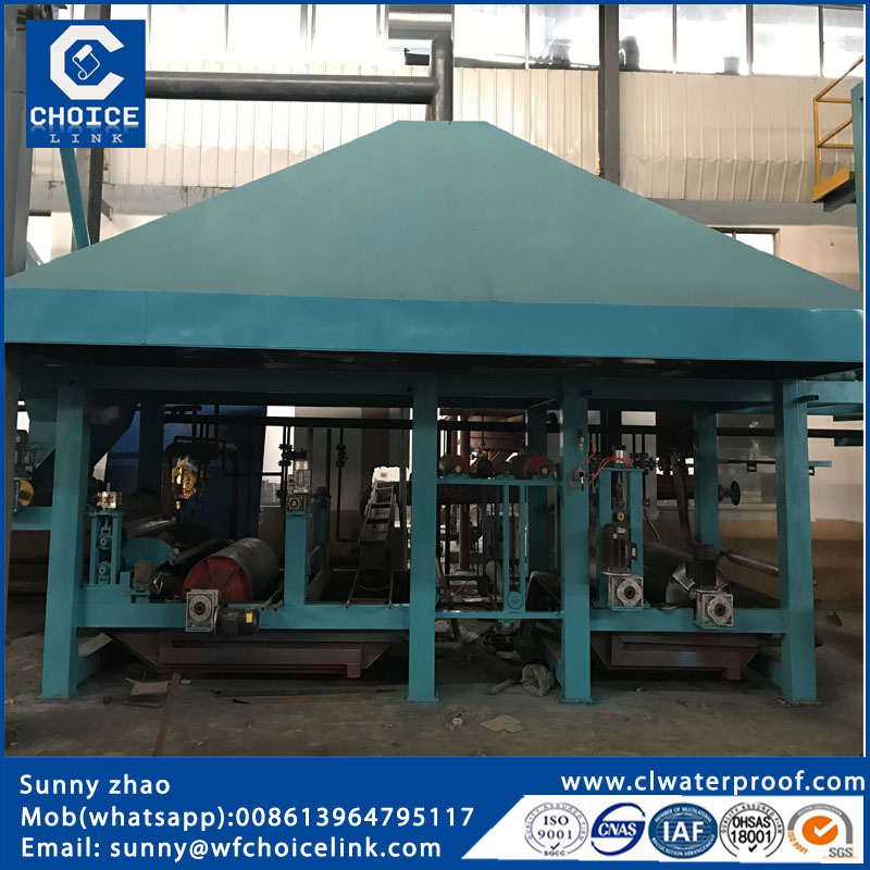 automatic small waterproofing machinery for bitumen plants
