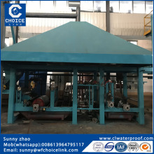 small sbs bitumen waterproof roll processing machine