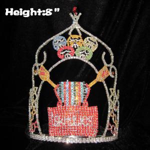 Sweety Candy Coronas de cristal de encargo del concurso