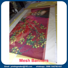 Percetakan Banner Vinyl Custom Made Mesh